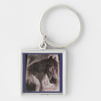 Black Horse Key Chain