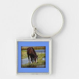 Black Horse Keychain