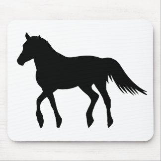Black Horse Mouse Pad