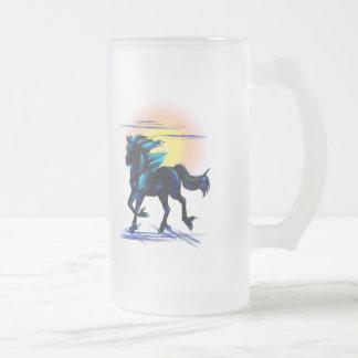 Black Horse Mug