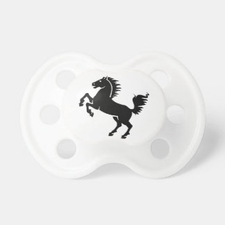 Black Horse Baby Pacifier