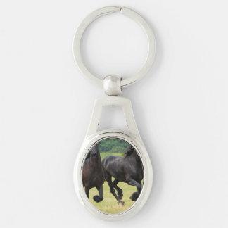 Black Horse Key Chain