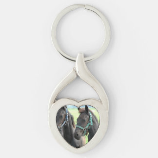 Black Horse Keychains