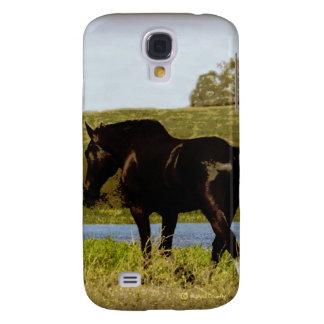 Black Horse Samsung Galaxy S4 Cover