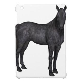 Black Horse Side View iPad Mini Cases