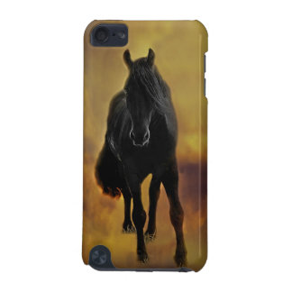 Black Horse Silhouette iPod Touch (5th Generation) Cover