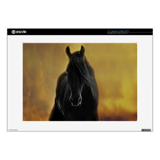 Black Horse Silhouette Decals For Laptops