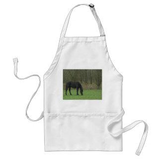 Black Horse standing Apron