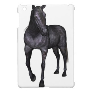 Black Horse Standing Case For The iPad Mini