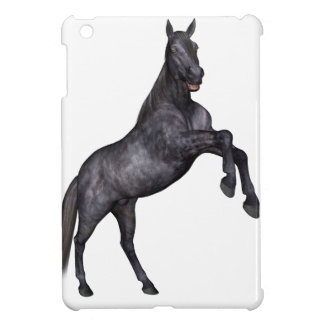 Black Horse Standing Cover For The iPad Mini