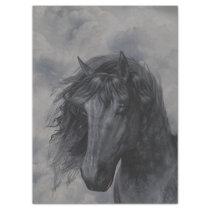 Black Horse Tissue Paper