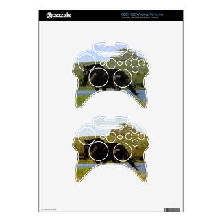 Black Horse Xbox 360 Controller Decal