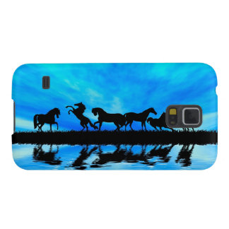 Black horses reflect case for galaxy s5