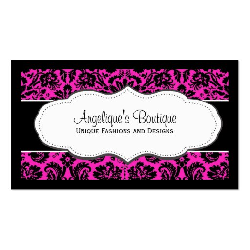 Free business card border templates border double sided standard business cards pack of 100 zazzle reheart Image collections