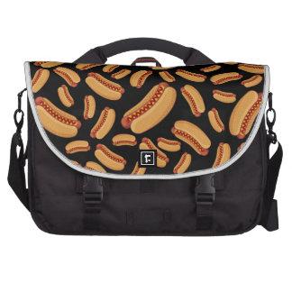 Black hotdogs laptop commuter bag