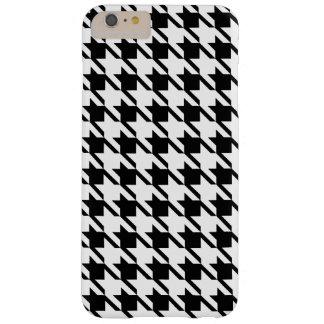 Black Houndstooth iPhone 6 Plus Case