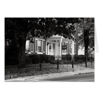 Black House McMinnville Tennessee Greeting Card
