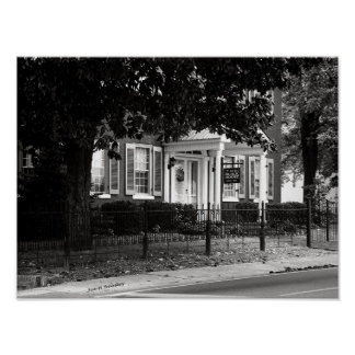 Black House McMinnville Tennessee Poster