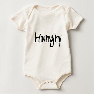 Black Hungry Baby Bodysuit