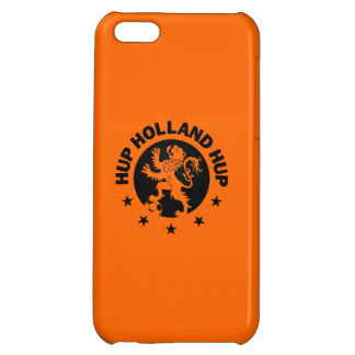 Black Hup Holland - Editable Background color iPhone 5C Cover
