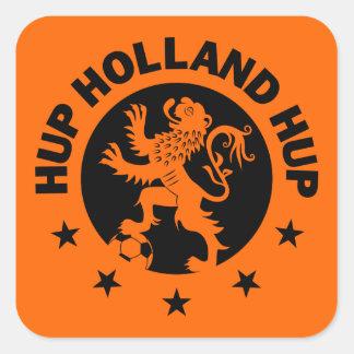 Black Hup Holland - Editable Background color Square Sticker