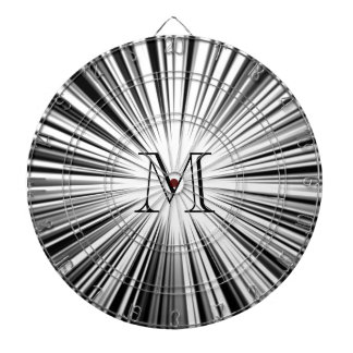 Black Hyperspace Monogram Dart Board