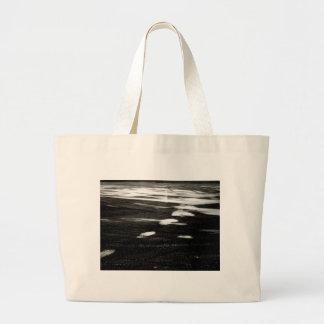 Black ice canvas bag