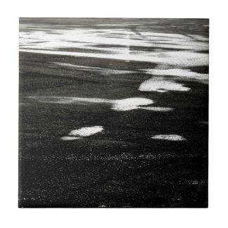 Black ice ceramic tile