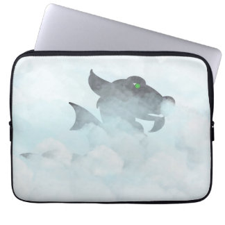 Black Ice Dragon Laptop Sleeve