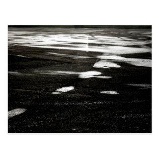 Black ice postcard