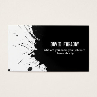 Paint brush business cards templates zazzle for Ink business cards