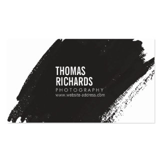 Black Ink Business Cards & Templates