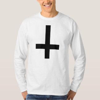 Black Inverted Cross T-Shirt