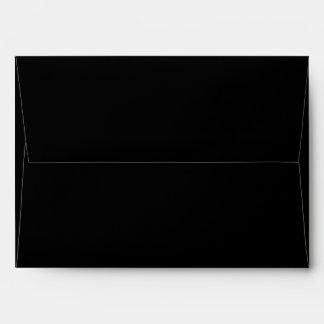 Black Invitation or Greeting Card Envelopes