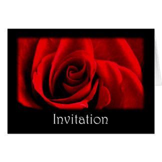 Black Invitation Template