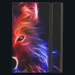 "Black iPad Air Case with bright wolf<br><div class=""desc"">Stunning,  classy,  stylish black iPad Air Case with No Kickstand and with bright wolf on the cover.</div>"