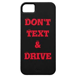 "BLACK IPHONE  IPAD  ""DO NOT TEXT & DRIVE"" CASE"