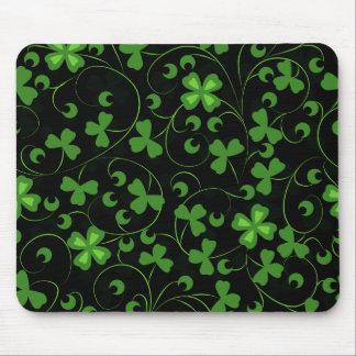 Black Irish Mouse Pads