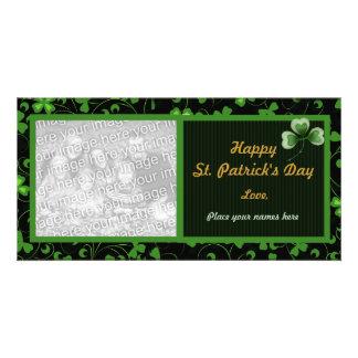 Black Irish Photo Greeting Card