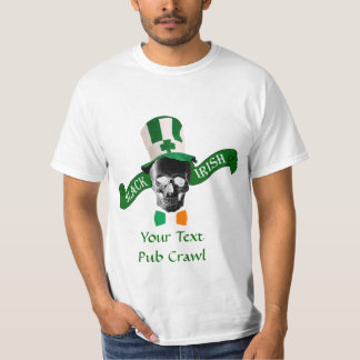 Black Irish St Patrick's day T-Shirt