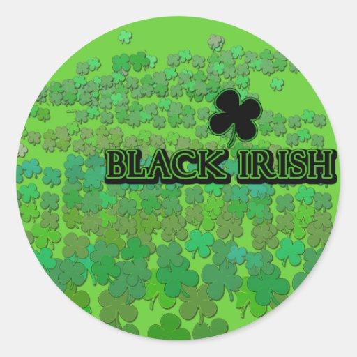 Black Irish Tshirts, Buttons, Beer Steins Sticker