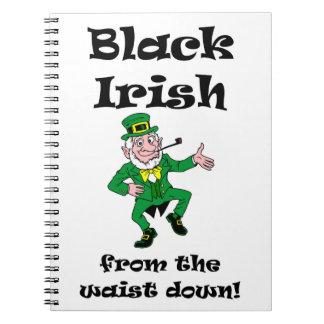 BLACK IRISH WAIST NOTEBOOKS