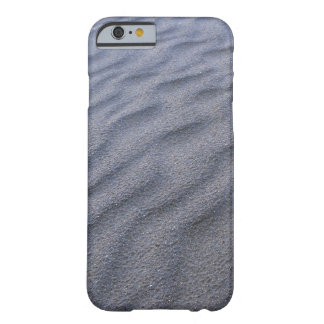 Black Iron Sand in The Beach Design Series Barely There iPhone 6 Case