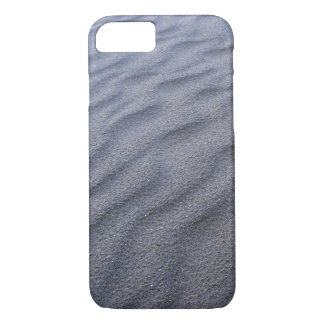 Black Iron Sand in The Beach Design Series iPhone 7 Case