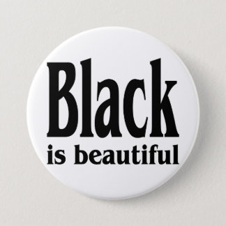Black Is Beautiful Button