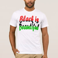 Black is Beautiful Pan-African Flag T-Shirt