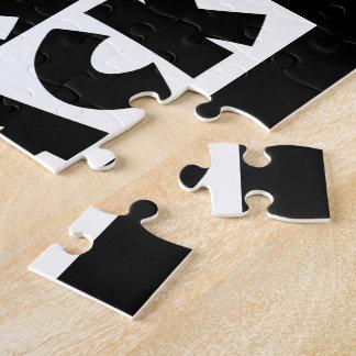 Black Is Black Jigsaw Puzzle