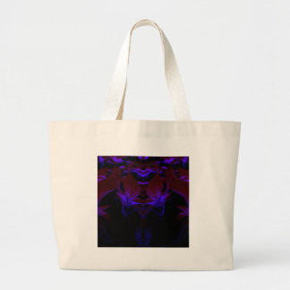 black is new red large tote bag