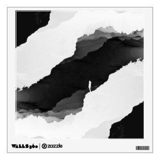 Black Isolation Wall Sticker