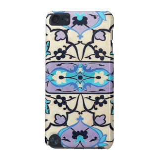 Black Ivory Purple Blue Floral Pern iPod Touch (5th Generation) Covers